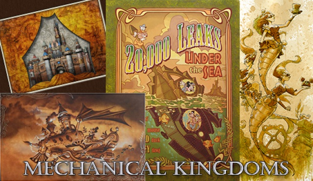 (Disneyland Park) The Disney Gallery - Exposition Mechanical Kingdoms - Steam-Driven Visions of a Victorian Future 252904tdg3