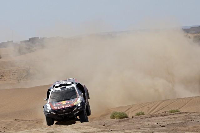 Team Peugeot Total : Rallye du Maroc / ETAPE 2 : Boucle du Drâa 253916561406da6658c