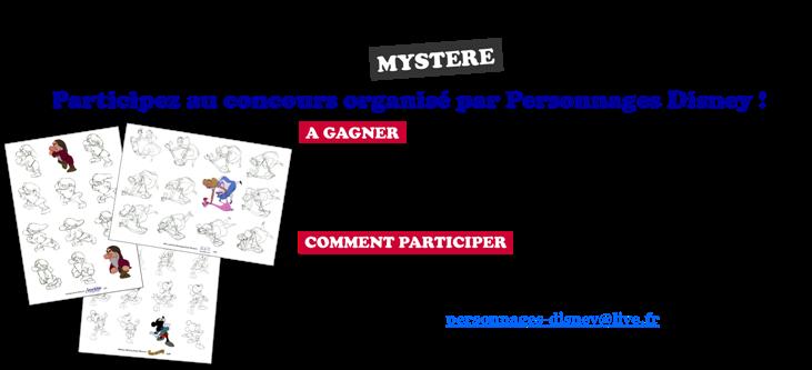 [Concours] A la recherche du personnage Disney mystère ! 254148Participationconcours2