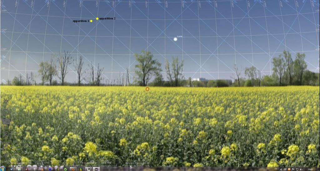 2012: le 05/11 à 11h40 - Lumière étrange dans le ciel  - Larmor Plage (56)  254927gwn1