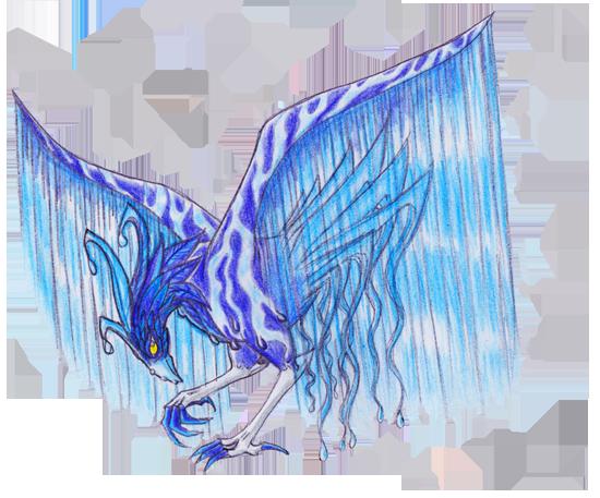 Dragons, chimères et créatures arc-en-ciel 254983coqcascade550