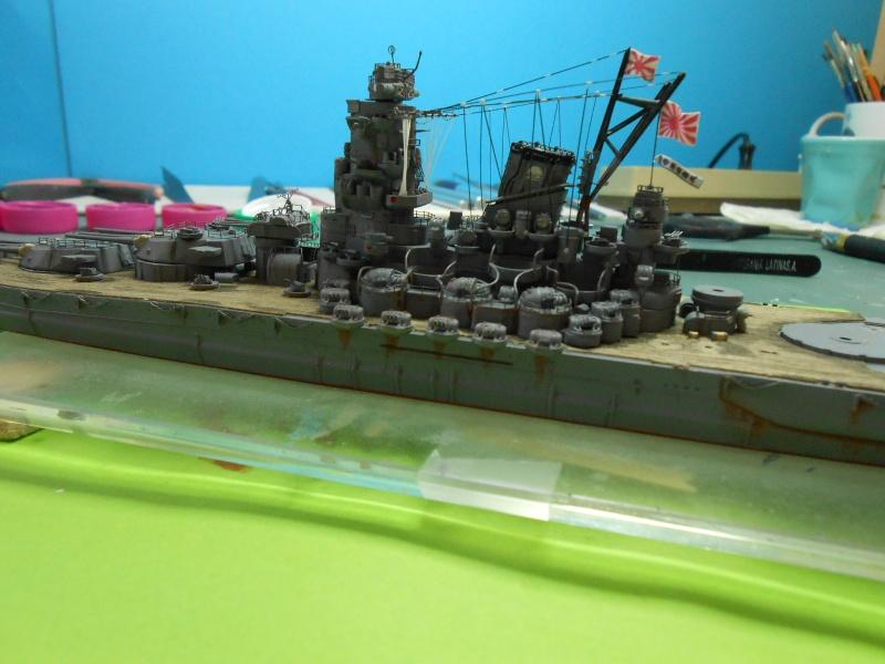 Yamato 1/700 fuji, PE,Pont en bois et babioles - Page 4 255620DSCN6172