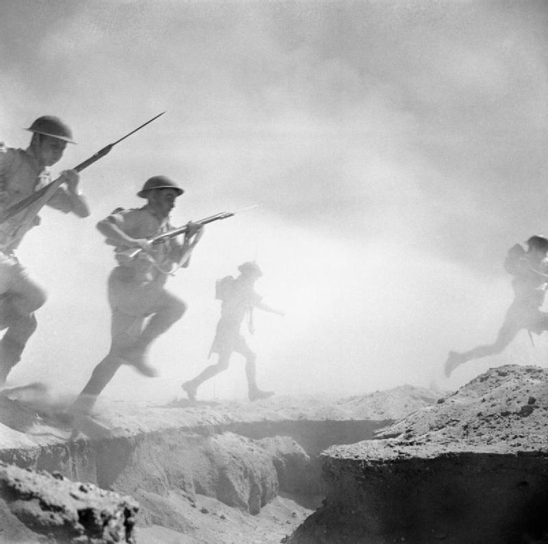 LFC : 16 Juin 1940, un autre destin pour la France (Inspiré de la FTL) 255728ElAlamein1942Britishinfantry