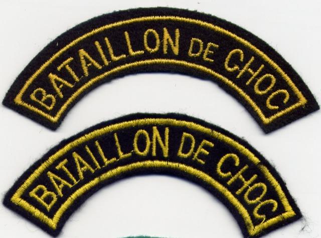 LES INSIGNES DU BATAILLON DE CHOC 1943/1963. 257323File0025