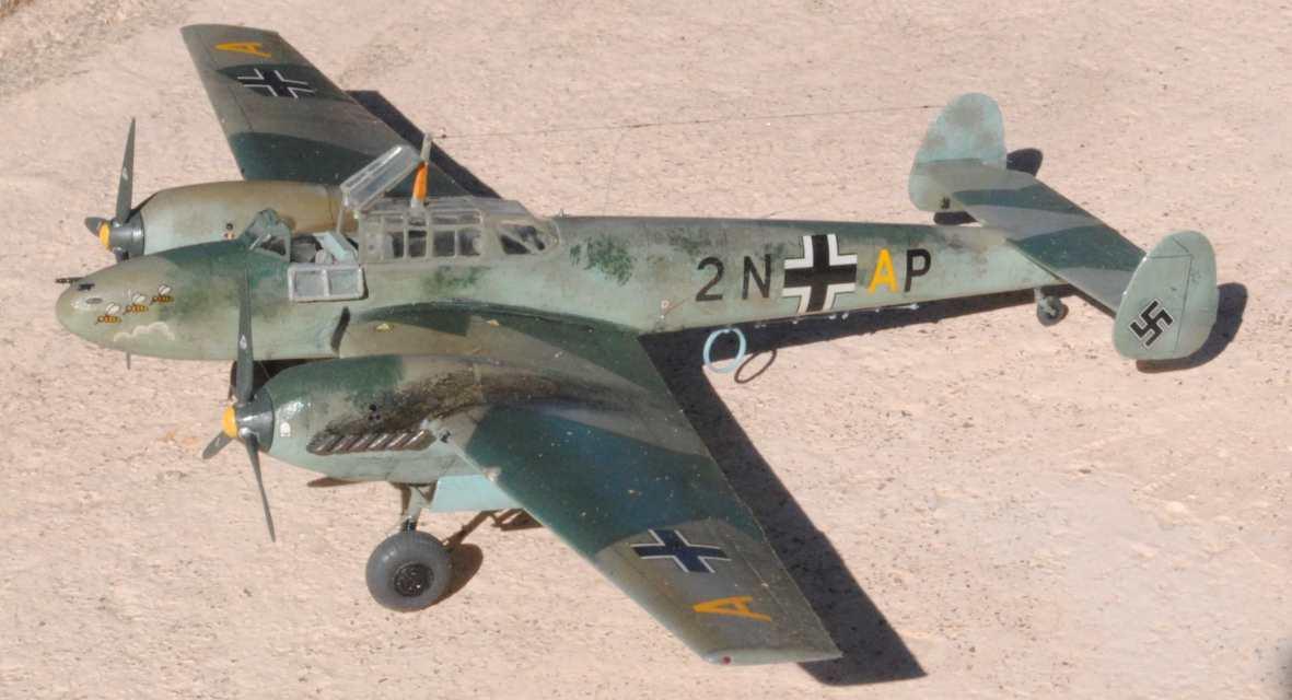 Bf 110 C D E 258077Bf110C