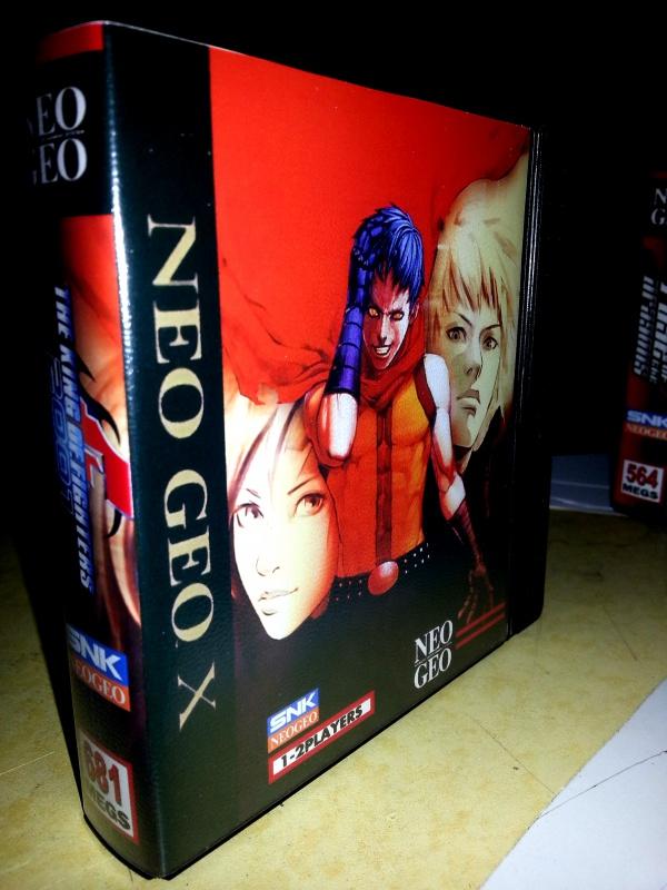 Insert neo geo x pour boites neogeo pocket 25885020130201093231