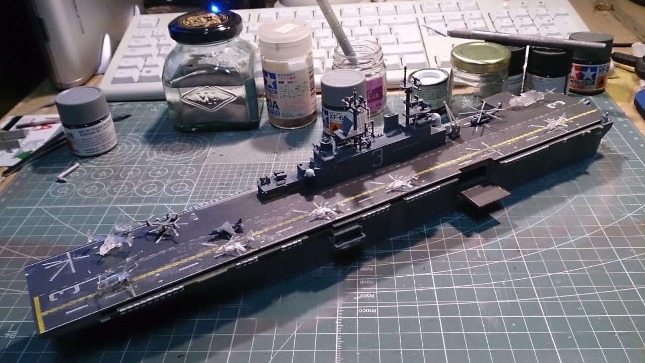 USS KEARSARGE LHD-3 1/700 REVELL - Page 2 258945Kearsarge42