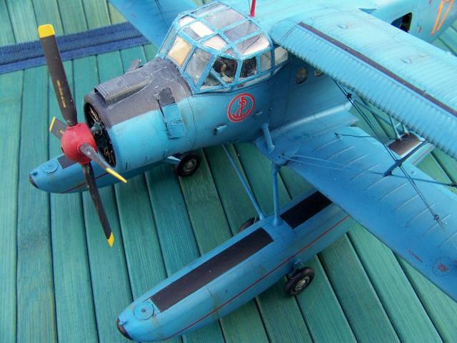 Pantouflard soviétique : l'Antonov AN-2V 2595691083680