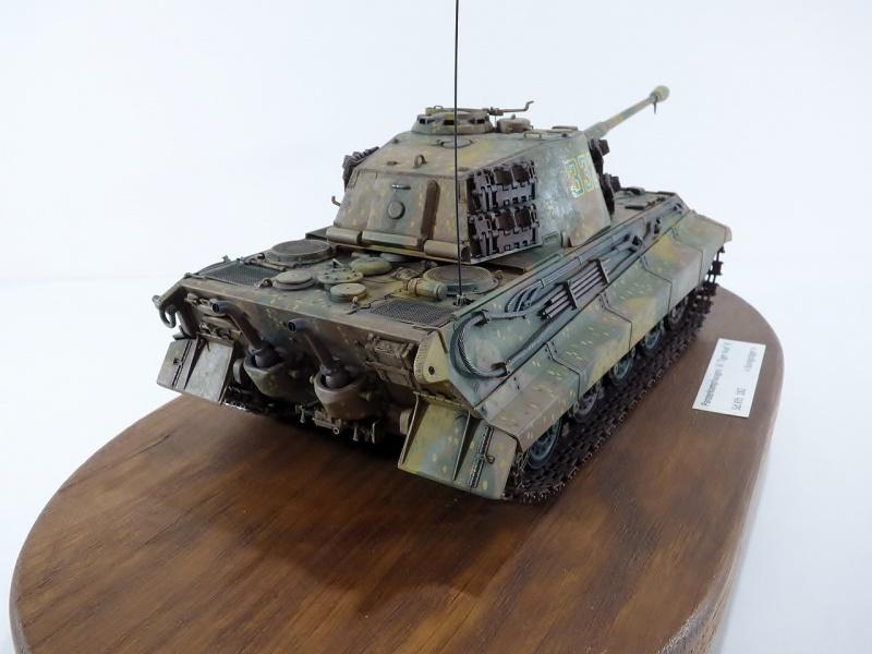 tiger - King Tiger Sd.Kfz.182 Henschel Turret Takom 1/35 260182P1060485Copier