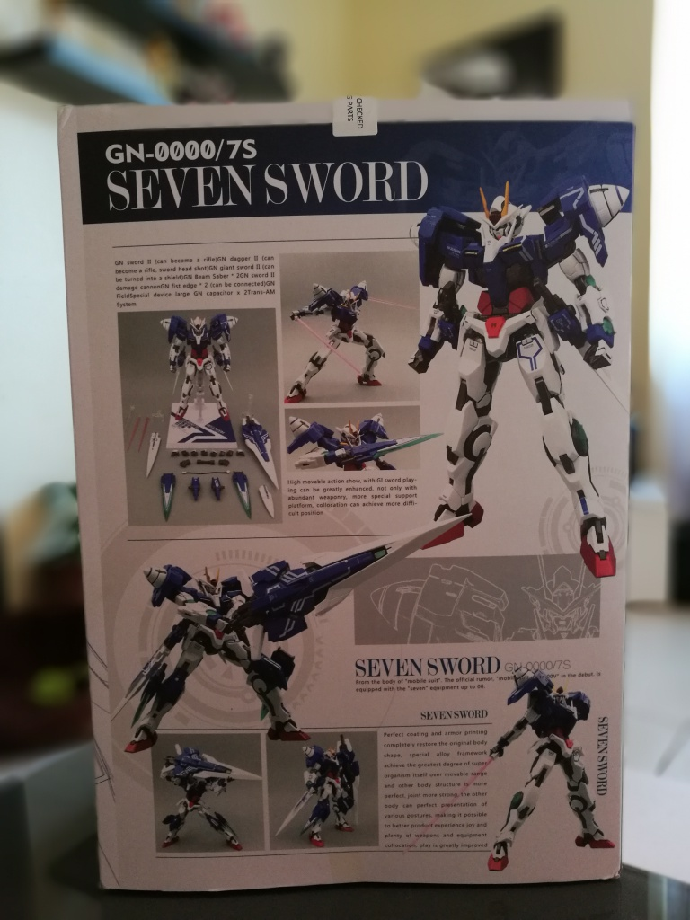 [REVIEW] Gundam 00 Seven Sword Metal Build MC Club..entre larmes,decadence et F5. 260278IMG20161027125219