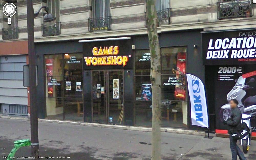 Les Centres Hobby Games Workshop en France et à travers le monde 261037CHGWparis12me
