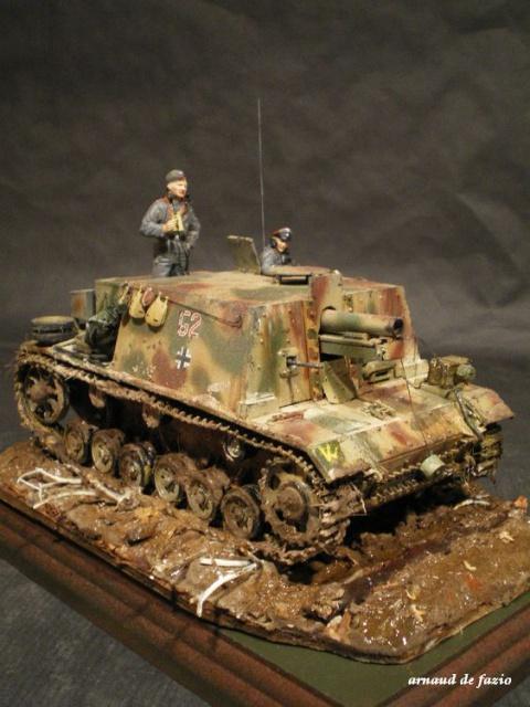 sturminfanteriegeschutz (sIG 33 B)     pz.regt.23 en 1943 sur le mious 261513IMGP1841