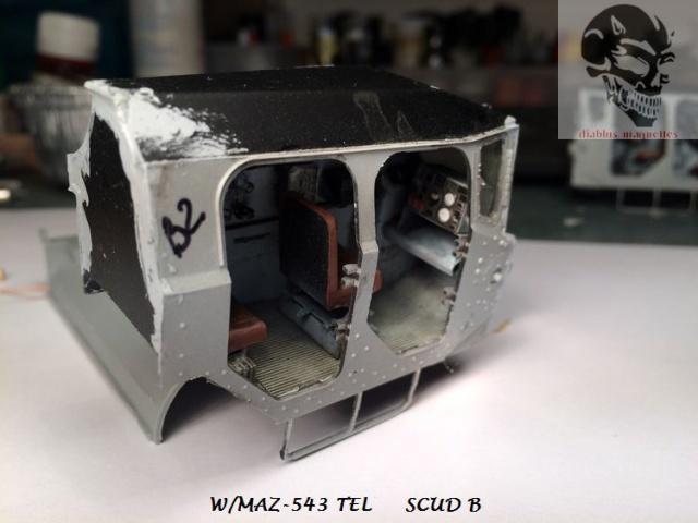 W/MAZ -543 TEL  SCUDB  maquette dragon 1/35 262645IMG4299