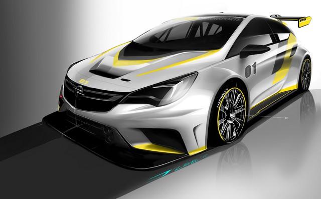 Présentation de la nouvelle Opel Astra TCR aux écuries clientes 262664OpelAstraTCR297990