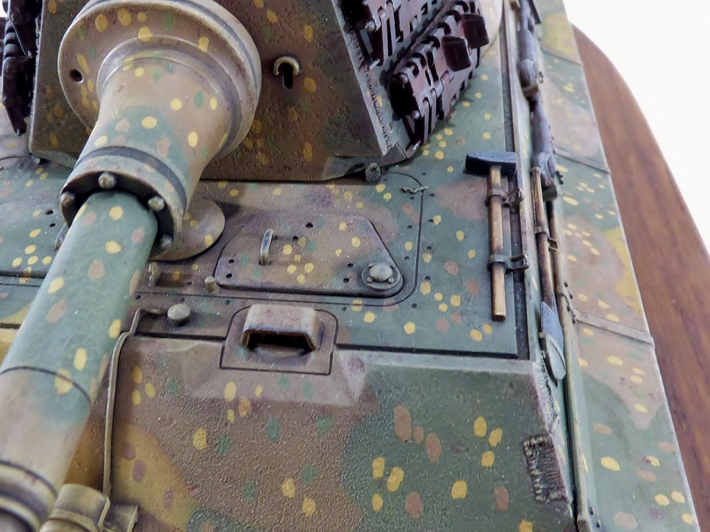 tiger - King Tiger Sd.Kfz.182 Henschel Turret Takom 1/35 265033P1060515Copier