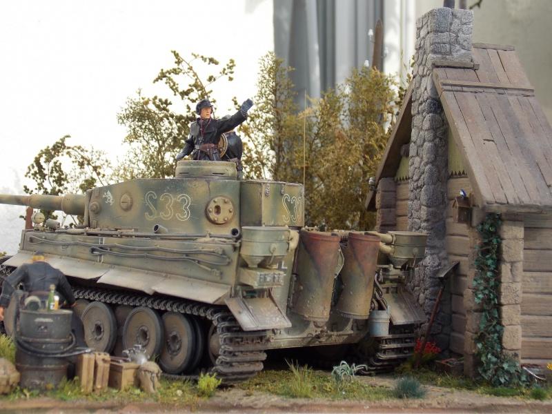 TIGRE S33  avant la bataille de Koursk juillet 43 (Dragon 1/35 dio DIODUMP) - Page 9 266114DSCN4777