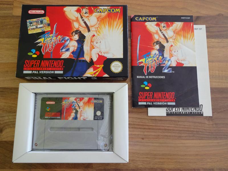 Prupru's Collection ! 100% Super Nintendo et 200% Super Comboy !! - Page 18 266169FinalFight2ESP