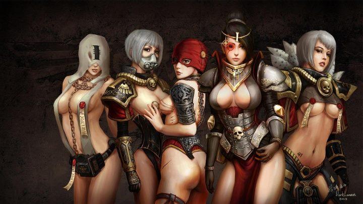 [W40K] Collection d'images : Inquisition/Chevaliers Gris/Sœurs de Bataille 266532inquisitiongirls