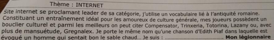 MonLegionnaire selon Gregnalex 267732Capture