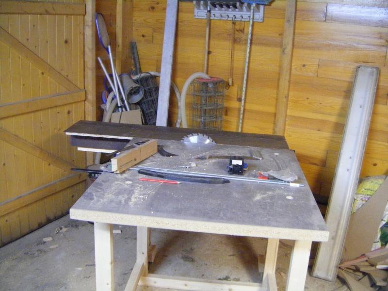 Fabrication d'une scie sur table 267980DSCF1024