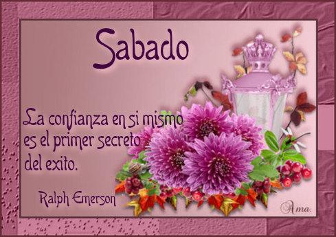 Flores con Frase 267994sabado