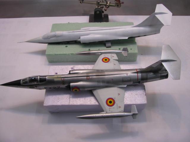 DUO: F-104N (NASA) + F-104G (BAF) Hazegawa 1/48  - Page 2 268765IMG7194