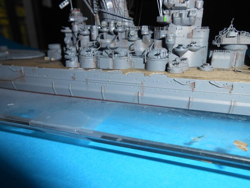 Yamato 1/700 fuji, PE,Pont en bois et babioles - Page 3 269739DSCN6123