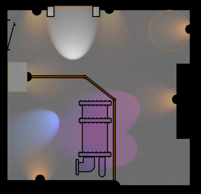 Construction taille réelle : Tower of terror boiler room projet  270839planlumiere
