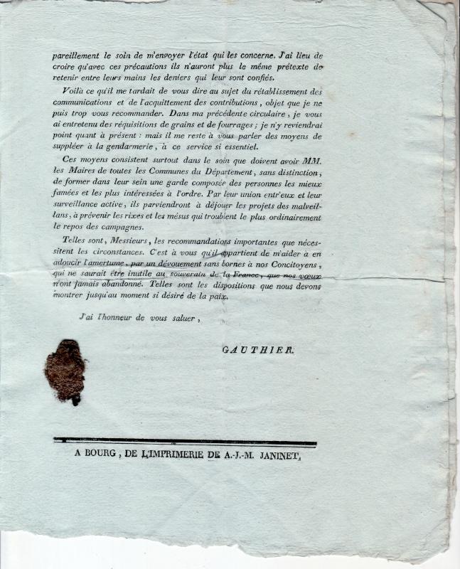 la campagne de 1814 - armée des Alpes 270978scan39