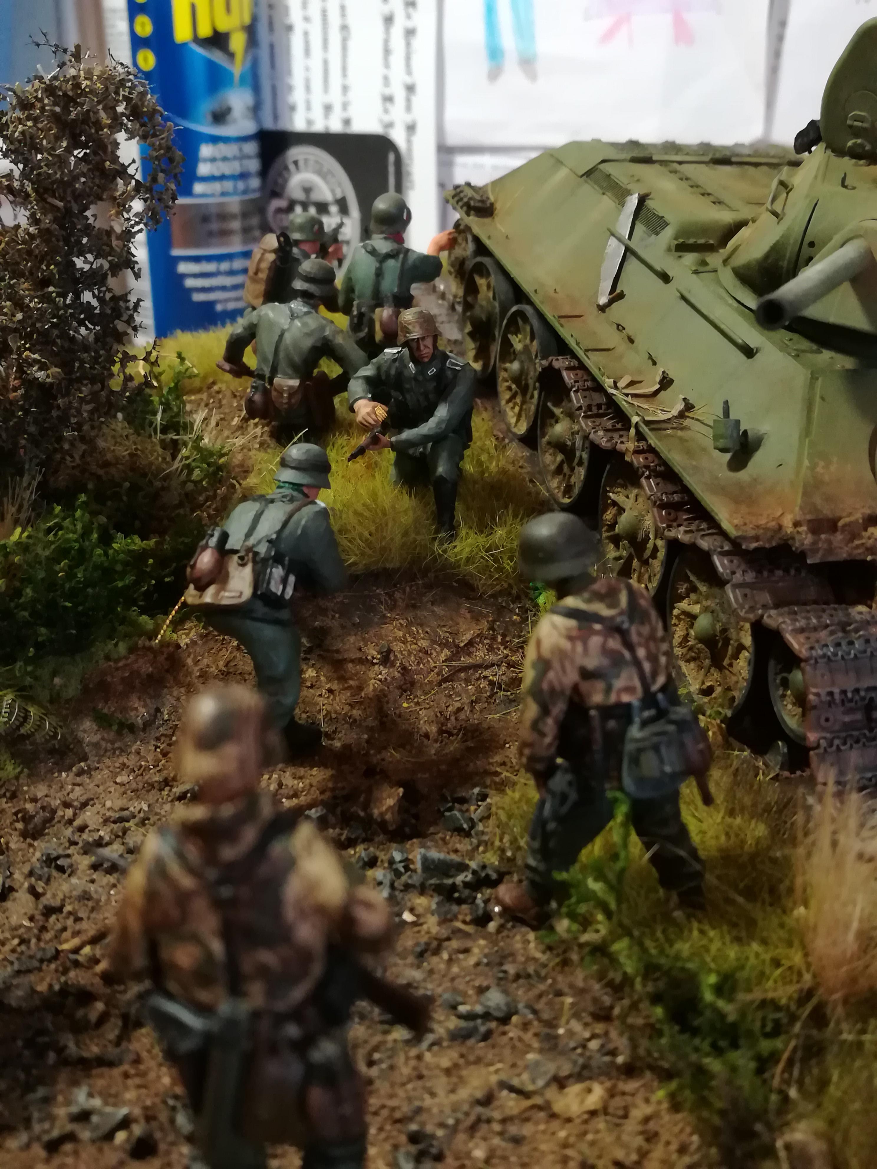 Front de l'Est, 1942 - T34 et Wehrmacht - Zvezda - 1/35 - Page 2 271660IMG20171219141334