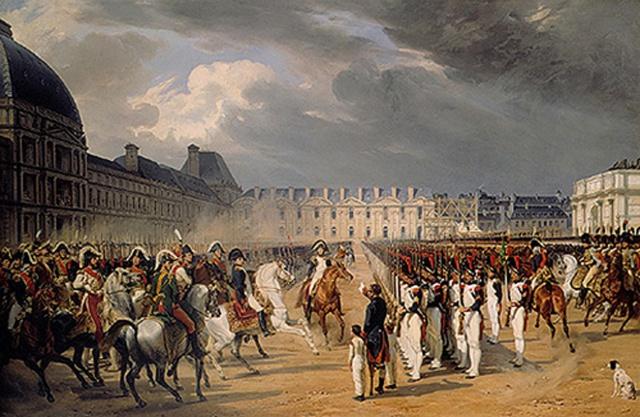 Murat aux Tuileries 271745muratparade