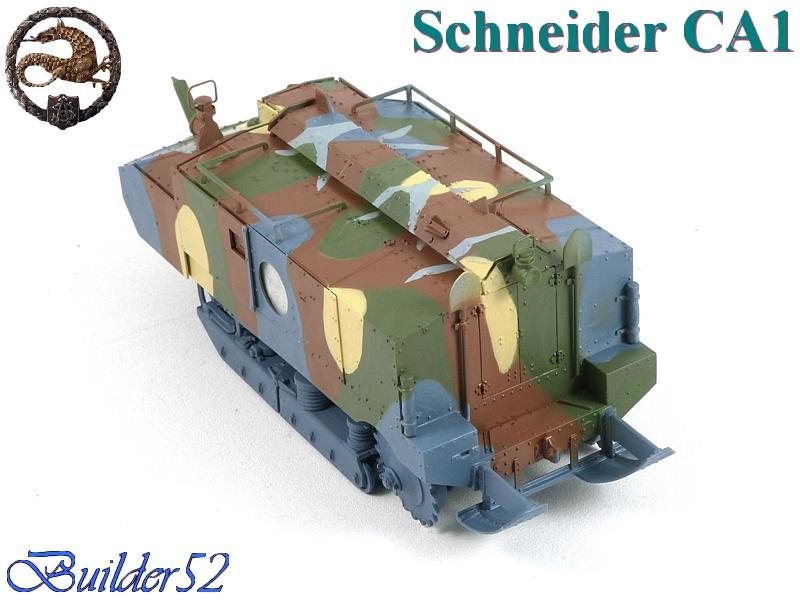 CHAR SCHNEIDER CA 1 - HOBBY BOSS 1/35 272344P1040950