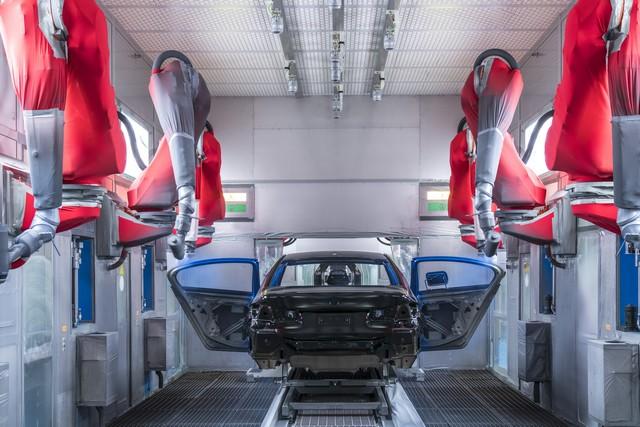 La nouvelle BMW Série 5 Berline. Plus légère, plus dynamique, plus sobre et entièrement interconnectée 272417P90237964highResbmwgroupplantding