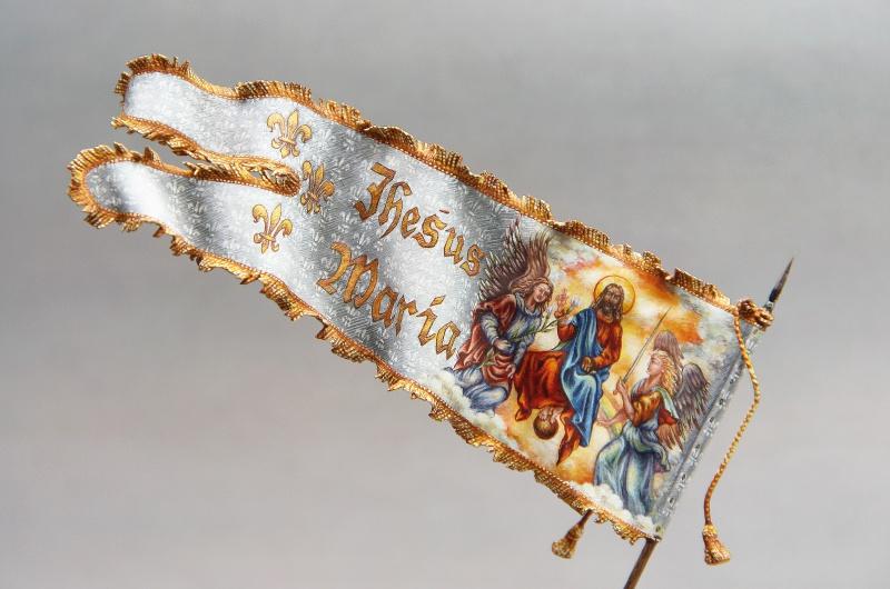 Jeanne d'Arc - Bataille de Patay - 18 Juin 1429 272516JeannedArcBannireDroit