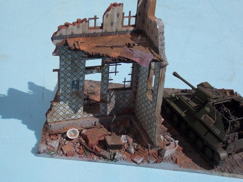 SU 76 M Tamiya et ruine Verlinden 1/35 - Page 5 272792DSCN4400