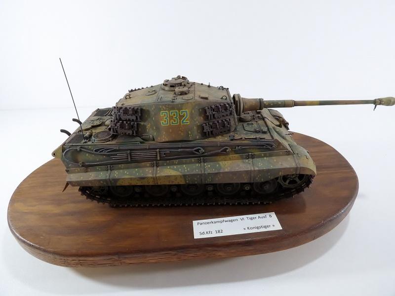 tiger - King Tiger Sd.Kfz.182 Henschel Turret Takom 1/35 272909P1060519Copier