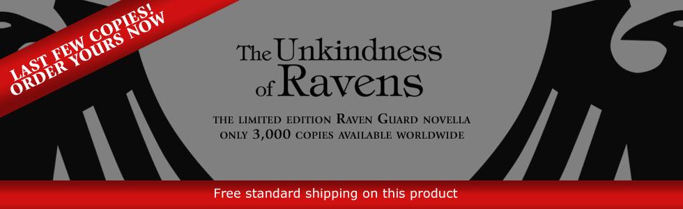 The Unkindness of Ravens de George Mann - Page 2 273304ravenslastfew
