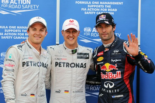 F1 GP de Monaco 2012 : (essais libres-1-2-3-Qualifications) 2766632012GPdemonacoNicoRosbergMichaelSchumacherMarkWebber