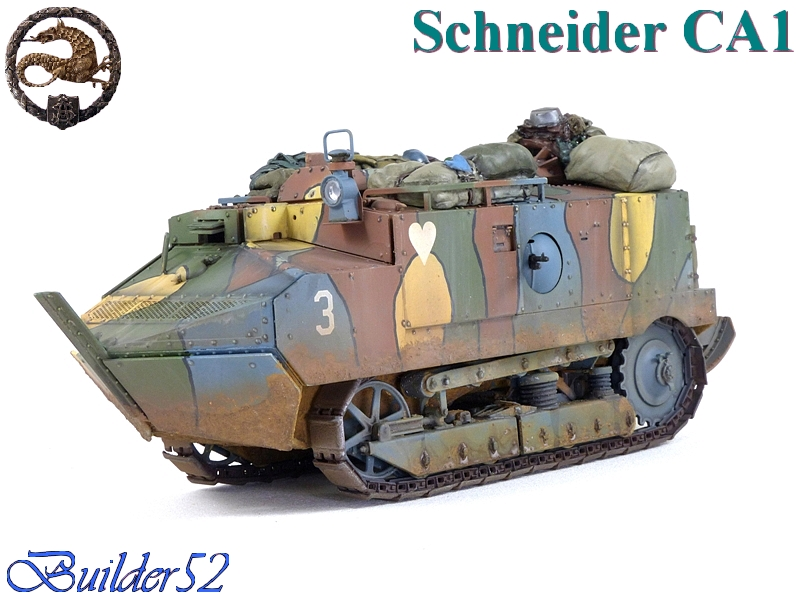 CHAR SCHNEIDER CA 1 - HOBBY BOSS 1/35 278192P1050066