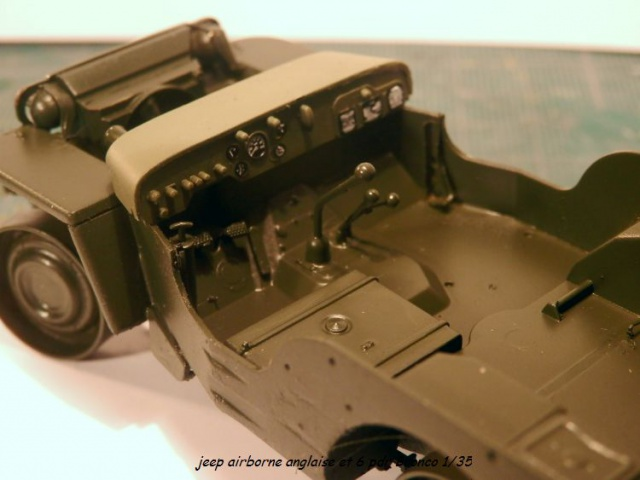 jeep indochine - 6 pdr ,jeep ,équipage airborne Bronco 1/35 (sur la route de Ouistreham) 279714P5020098