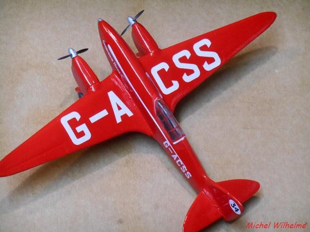 DE HAVILLAND D H88 kit Airfix 1959 279972DSCN9424Copier