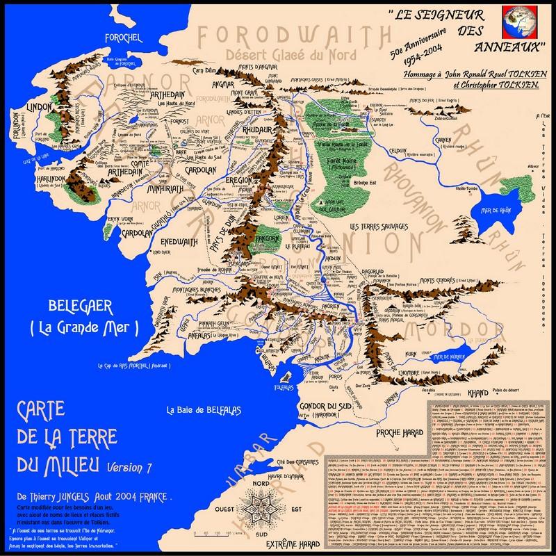 Carte de la Terre du Milieu 283216Cartemodifieemini