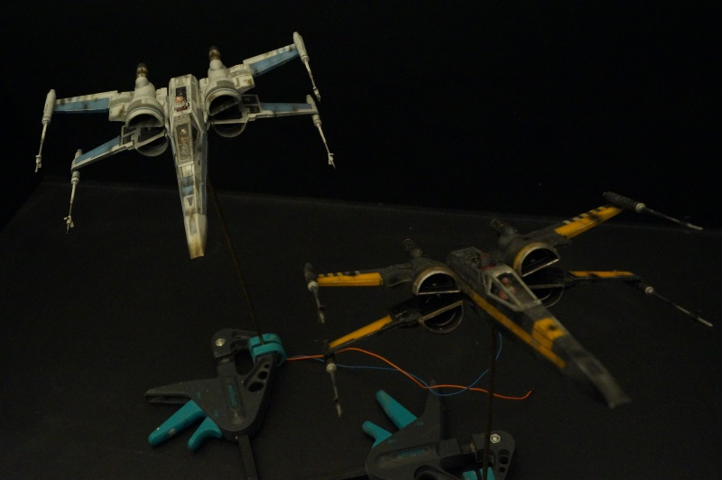 "X-Wing ""Resistance"" T-70 Bandaï 1/72 283350DSC01560"