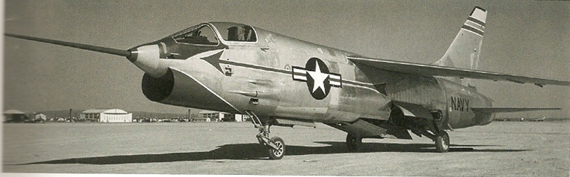 VOUGHT F-8 CRUSADER  284168VoughtXF8U1