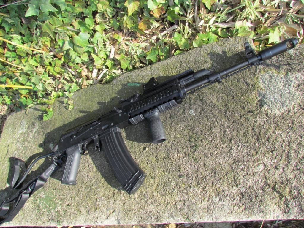 AK roumain / tactical + Fusil a pompe spas12 + 4 Revolvers + Sniper m24 snow wolf + AK bizon + glock + merdouilles 284922IMG1180
