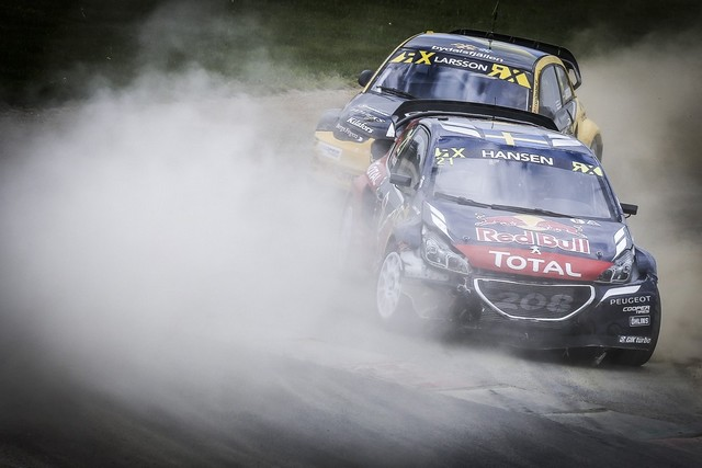 Rallycross - Belle deuxième place de Sébastien Loeb sur la PEUGEOT 208 WRX 286400HR8A4248