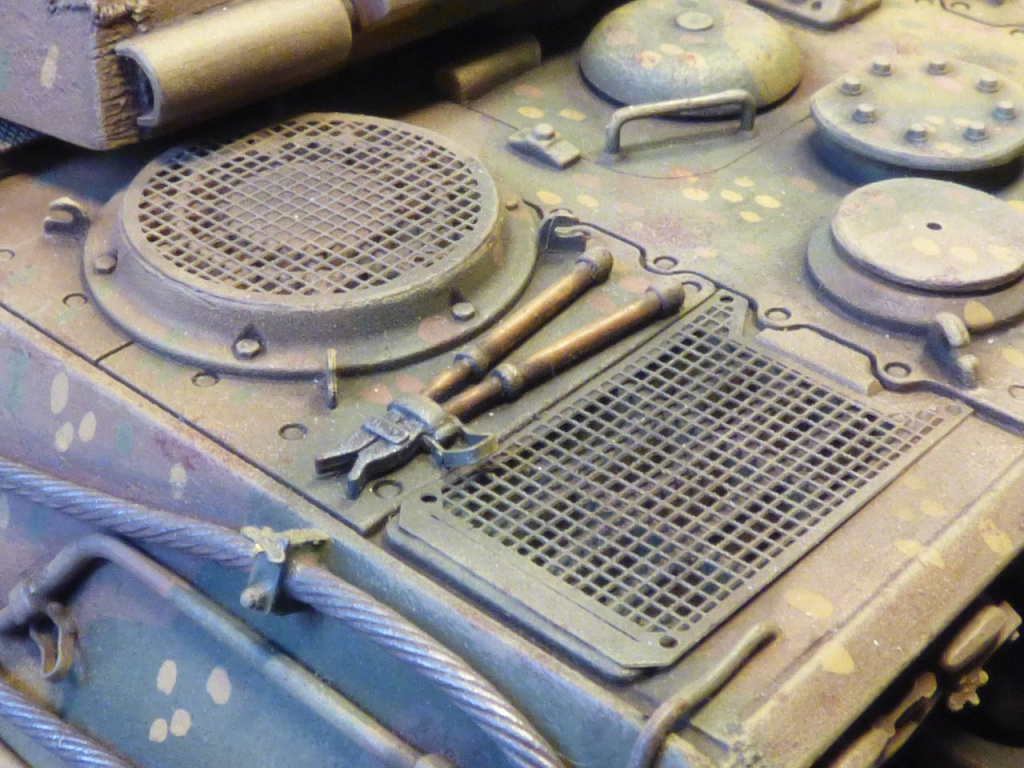 tiger - King Tiger Sd.Kfz.182 Henschel Turret Takom 1/35 288623P1060465Copier
