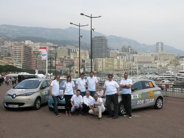 Renault ZOE truste les quatre premières places du 6ème Rallye Monte-Carlo ZENN 2886396721916