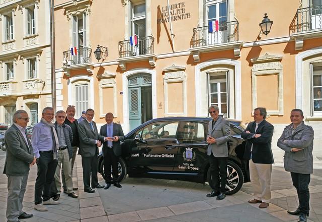 BMW i partenaire « électrique » de la ville de Saint-Tropez 288752P90215175highRespartnershipbmwi3s