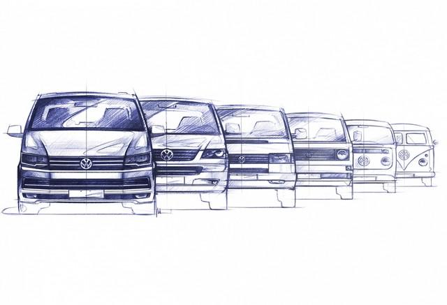 Transporter, Caravelle Et Multivan - La Sixième Génération 288991hdt6presseskizzen06